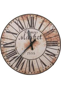 33ccb278ebe Maria Pia Casa. Relógio De Parede Decorativo De Parede Retrô Envelhecido  Market