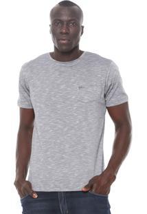 Camiseta Yachtsman Bolso Cinza