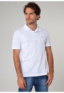 Camisa Polo M.Officer Original Branca
