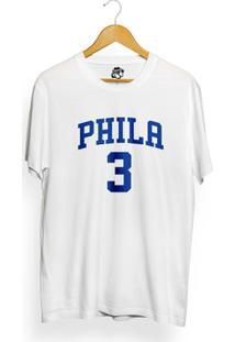 Camiseta Bsc Phila 3 - Masculino-Branco