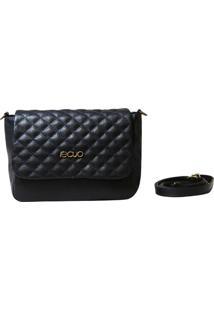 Bolsa Em Couro Recuo Fashion Bag Argo Azul