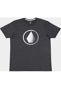Camiseta Volcom Plus Size Silk Removed Masculina - Masculino