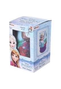 Mini Abajur 11Cm De Led Frozen Etitoys