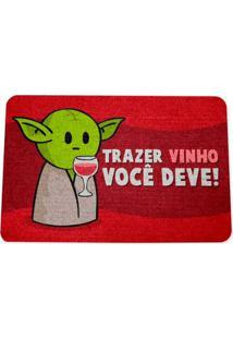 Capacho Ecológico Drpepper Mestre Minioda Vinho
