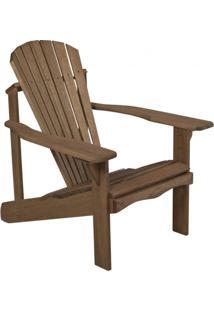 Cadeira De Descanso Em Madeira Maciça Varanda Casa E Jardim Móveis Stain Nogueira