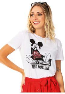 Blusa Branco Disney