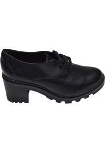 Sapato Feminino Tratorado Bebecê Preto