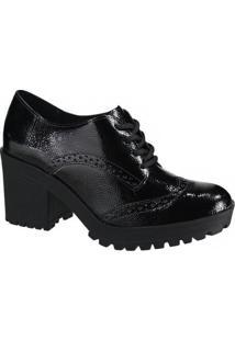 Sapato Feminino Oxford Via Marte