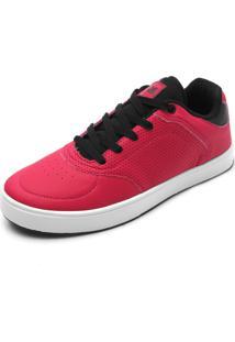 7513266000e13 ... Tênis Ride Skateboard Recortes Rosa
