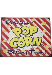 Jogo Americano Cozinha Decorativo Personalizado Popcorn Pvc