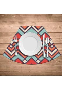 Jogo Americano Para Mesa Redonda Wevans Abstract Color
