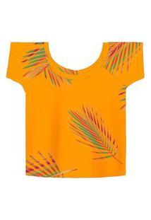 Blusa Feminina Color Rovitex Amarelo