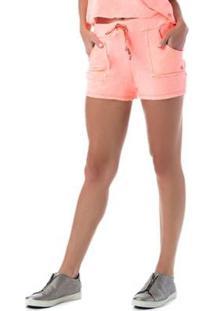 Shorts Candies Vestem Feminio - Feminino-Laranja
