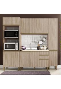 Cozinha Completa 4 Peças 11 Portas Com Paneleiro Be Mobiliário