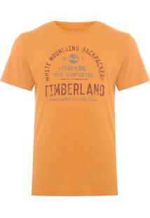 Camiseta Masculina Backpackers - Amarelo