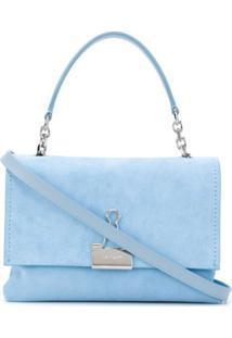 Off-White Bolsa Tiracolo - Azul
