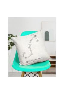 Amaro Feminino Design Up Living Capa De Almofada Signo 42X42, Escorpião