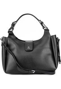 Bolsa Santa Lolla Handbag Riscada Feminina - Feminino-Preto