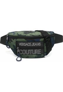Versace Jeans Couture Pochete Com Estampa De Logo - Verde
