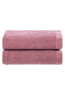 Jogo Toalhas De Lavabo Colors 2 Peças - Home Style