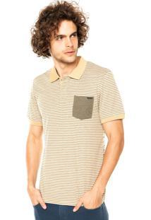 Camisa Polo Volcom Blurt Listrada