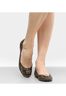 Sapatilha Shoestock Medalha Glitter - Feminino