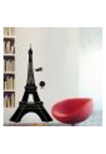 Adesivo De Parede Torre Eiffel Paris Modelo 3 - Pequeno