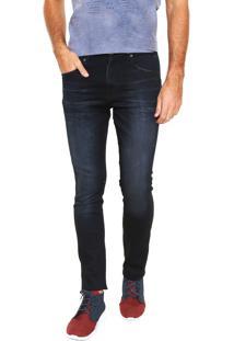 Calça Jeans Calvin Klein Jeans Skinny Sculped Azul