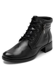 Bota Sandalo Feminina Clave De Fa Sitar Black