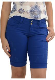 Bermuda Energia Fashion Maje Azul