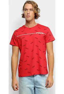 Camiseta Polo Rg 518 Careca Masculina - Masculino-Vermelho