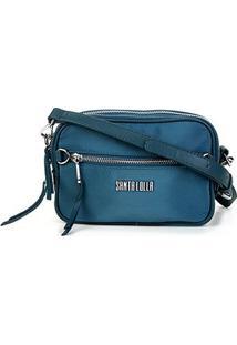 Bolsa Santa Lolla Mini Bag Nylon Feminina - Feminino-Azul