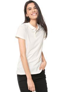 Camisa Polo Malwee Lisa Off-White