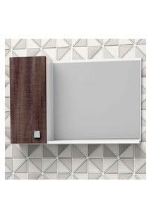 Espelheira De Sobrepor Moara 60X39,8Cm Branca Com Dakota Cozimax