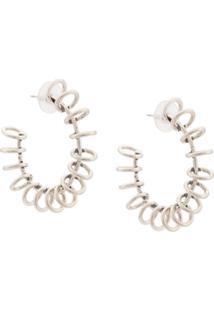Dannijo Sargent Earrings - Cinza