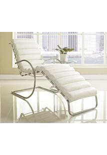 Chaise Mr Cromada Sintético Pu Off White Dt 0100219376