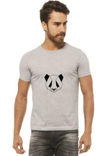 Camiseta Joss - Panda - Masculina - Masculino-Mescla