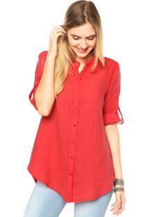 Camisa Mooncity Lese Vermelha