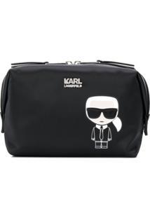 Karl Lagerfeld Necessaire Karlito - Preto