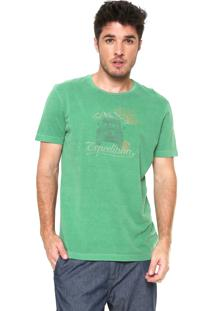 Camiseta Richards Expedition Verde