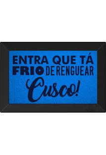 Tapete Capacho Entra Que Ta Frio De Renguear Cusco Maritimo