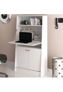 Armário Para Escritório 3 Portas Retrátil Branco Me4136 - Tecno Mobili