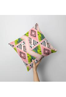 Almofada Avulsa Triângulos Tropical