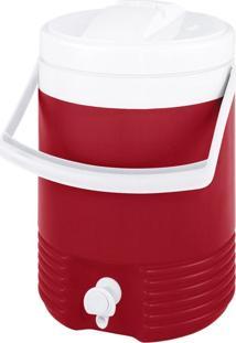 Cooler Igloo Jarra Térmica Vermelho
