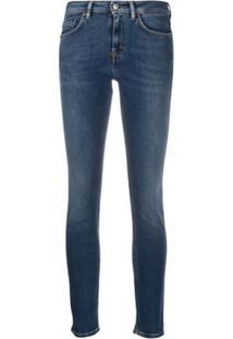 Acne Studios Climb Stretch Fit Jeans - Azul