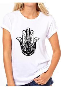 Camiseta Coolest Mão De Fátima Feminina - Feminino