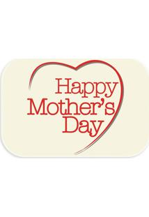 Tapete Wevans Decorativo Happy Mother'S Day Creme