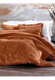 Edredom Casal Altenburg Blend Elegance Caramelo