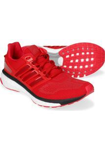 Tênis Adidas Energy Boost 3 Masculino - Masculino-Vermelho+Preto