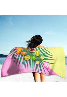 Toalha De Praia / Banho Vegan Colorful